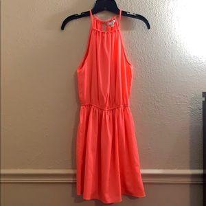American Eagle coral dress